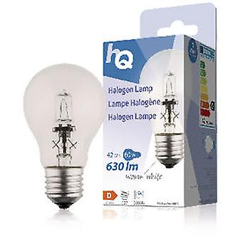 Hq Halogen Bulb 42W E27 Classic Gls 2800K 630Lm (Home , Lighting , Light Bulbs And Pipes)