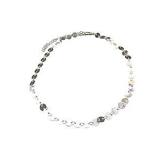 Chic-Anweisung Choker Halskette Silber