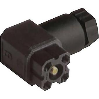 Hirschmann 932 157-100 G 4 W 1 F Connector For Control Voltage Of Black Number of pins:4