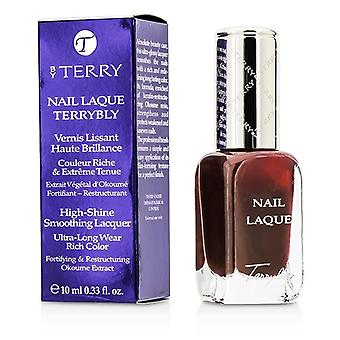 By Terry Nail Laque Terrybly High Shine Smoothing Lacquer - # 9 Ristretto 10ml/0.33oz