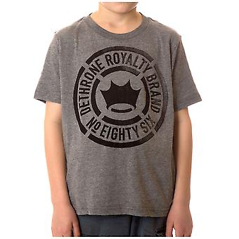 Dethrone Kid's Faded T-Shirt - Athletic Heather