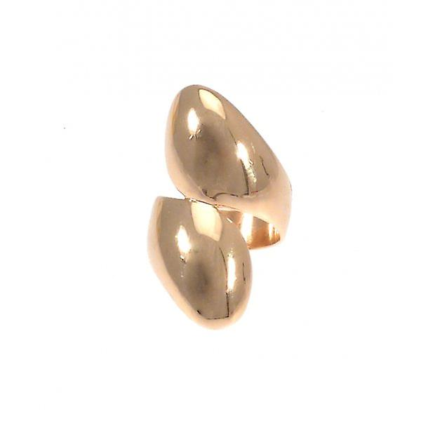 W.A.T goud stijl Twisted Fashion Ring