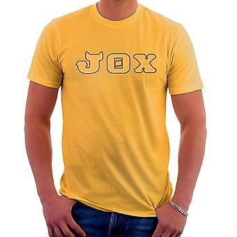 Potwór Uniwersytet braterstwa szczęki Theta Chi JOX Men's T-Shirt