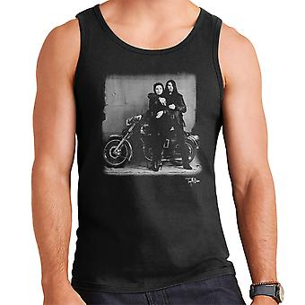 Ian Astbury And Renee Beach Motorbike Men's Vest