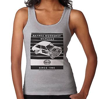 Haynes Workshop Manual 0173 Fiat 127 Stripe Women's Vest