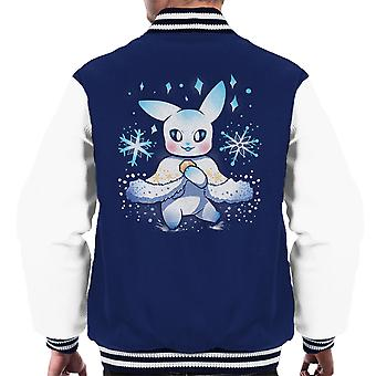 Festive Chu Pokemon Pikachu Christmas Men's Varsity Jacket