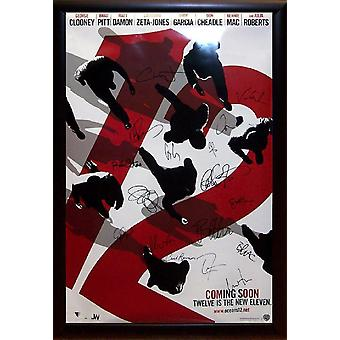Ocean's Twelve - Signed Movie Poster