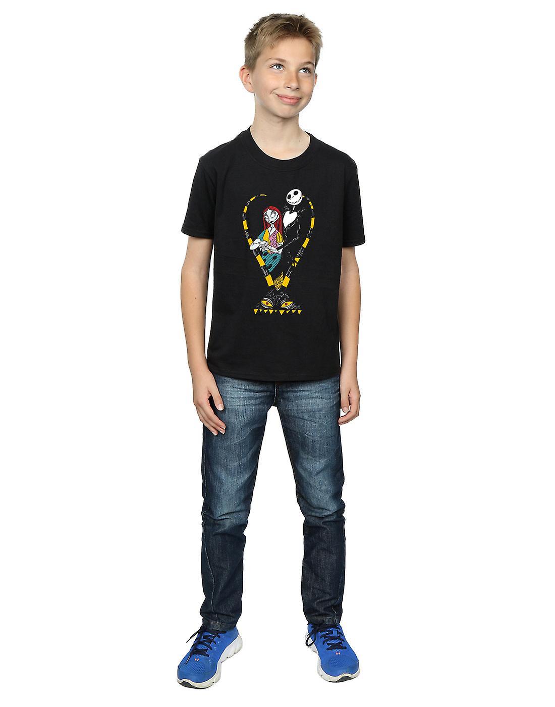 Disney Boys Nightmare Before Christmas Jack and Sally Love T-Shirt ...