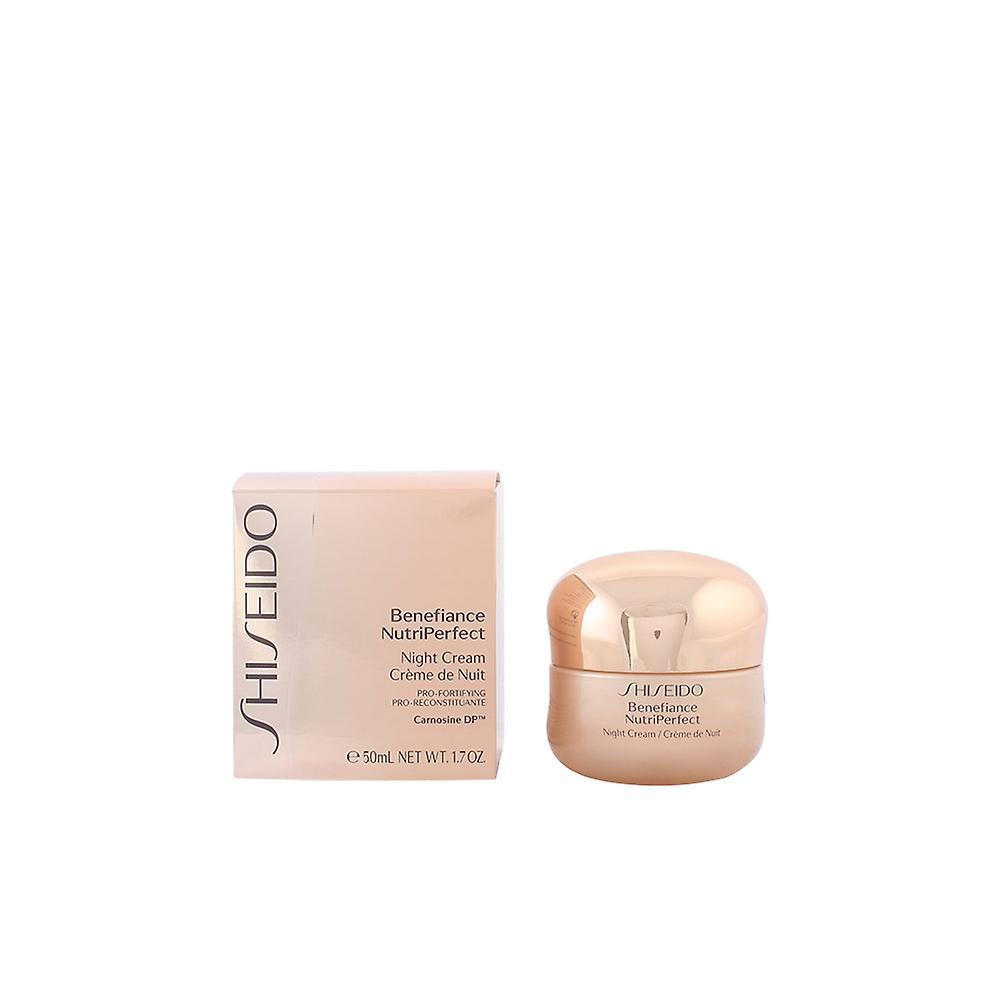 Pour Shiseido Nutriperfect 50 Femme Nuit Crème Ml Benefiance w0k8nOP
