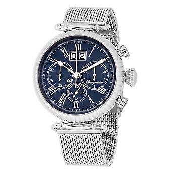Burgmeister BMP02-131 Paris, Gents watch, Analogue display, Chronograph with Citizen Movement - Water resistant, Stylish stainless steel bracelet, Classic men's watch