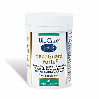 Biocare HepaGuard Forte (liver support with apple extract), 60 vegi capsules