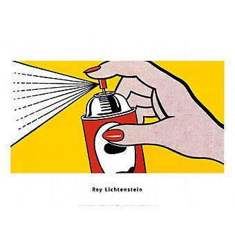 Spray 1952 plakat Print af Roy Lichtenstein (32 x 24)