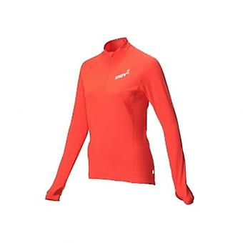 AT/C Long Sleeve Womens Running Mid Layer Coral