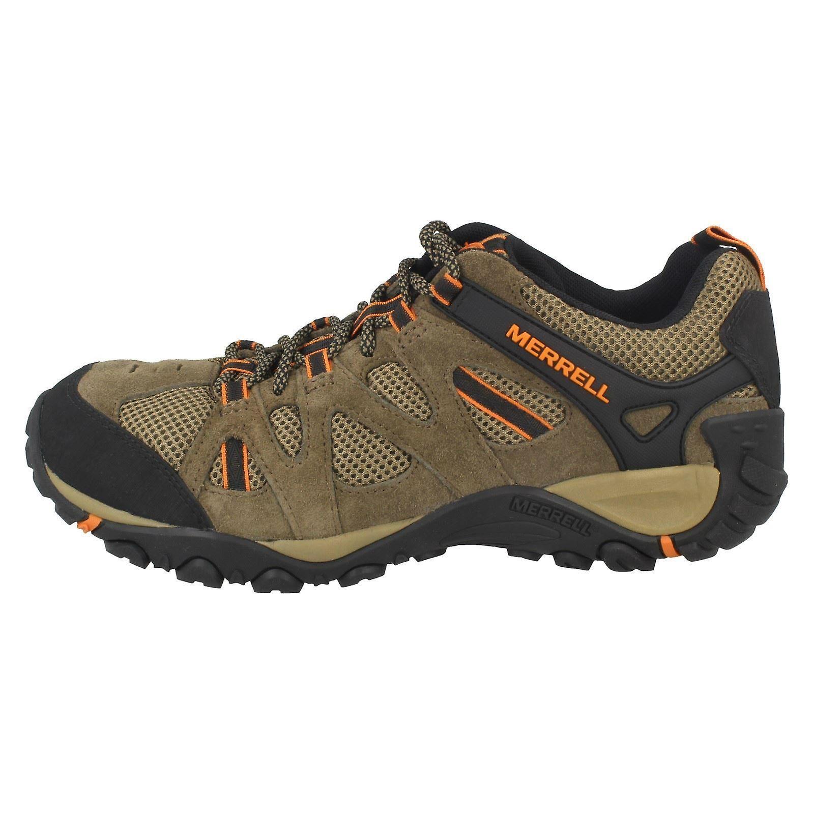 s Merrell Walking chaussures Yokota Ascender évent J343718C - 8M Cantine/B. cuir Orange - UK taille 8M - - UE taille 42 - taille US 8.5 cad773