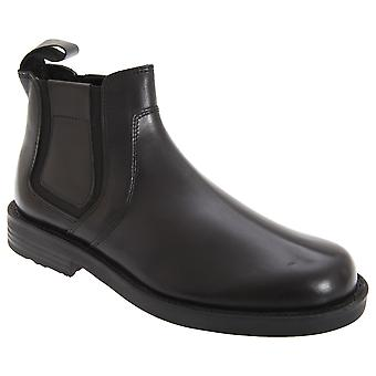 Roamers Mens Twin Gusset Softie Leather Dealer Boots