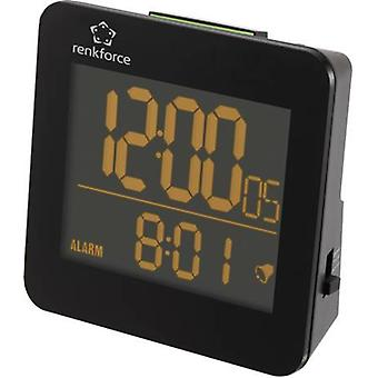 Radio Alarm clock Renkforce RC223 Black Alarm time
