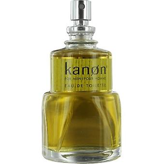 Kanon Norwegian Wood By Scannon Edt Spray 3.4 Oz *Tester