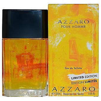 Azzaro Pour Homme Summer By Azzaro Edt Spray 3.4 Oz (2015 Edition)