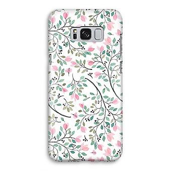 Samsung Galaxy S8 Full ut fallet - nätta blommor
