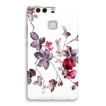 Huawei P9 Full Print Case - Pretty flowers