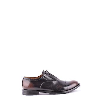 Officine creative men's MCBI463001O black leather lace-up shoes