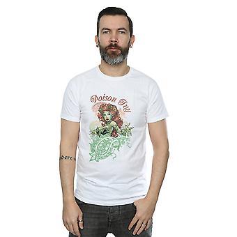 DC Comics Men's Poison Ivy Paisley T-Shirt