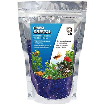 Ica Glass Gravel 400 Gr (Fish , Decoration , Gravel & sand)