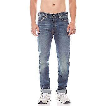 Levis 501 origineel fit heren jeans-Blau denim
