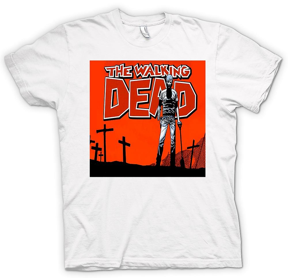 Hommes T-shirt - Zombie The Walking Dead - Horreur