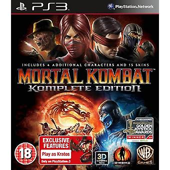 Mortal Kombat - Game of The Year Edition (PS3) - Factory Sealed