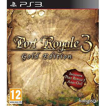 Port Royale 3 Gold (PS3)