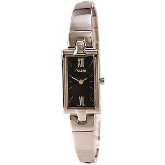 Pulsar Women's PEGG11 Analog Display Japanese Quartz Silver Watch