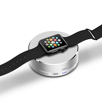 Apple Watch Wireless Charger - All-aluminum Metal Case, 1500mAh Rechargeable Battery