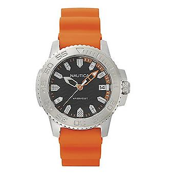 Nautica mens watch wristwatch NAPKYW002 silicone