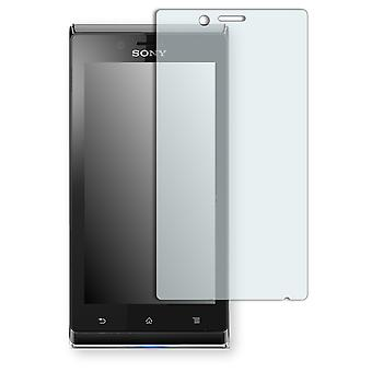 Sony Xperia J screen protector - Golebo crystal clear protection film
