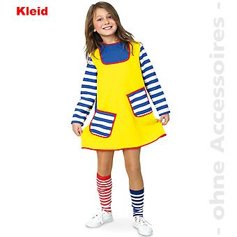 Brat tomboy thick girl child costume