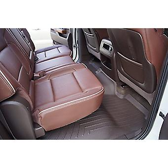2017 Ford F250/350 Super Duty Crew Cab Weathertech hinten Floorliner Set - Kakao