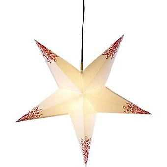 Deco-Plant 7906 Christmas star LED White, Red