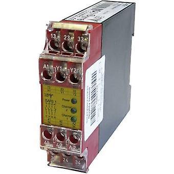 1 pc(s) SAFE 1 Riese Operating voltage: 24 Vdc, 24 V AC 3 makers, 1 breaker
