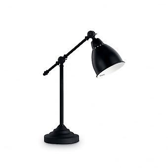 Ideal Lux Newton mesa lámpara negro