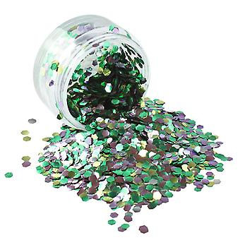 PaintGlow Biodegradable Cosmetic Glitter Rain Forest