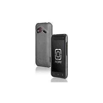 Caso de pluma ultraligera de incipio para HTC increíble 4G LTE (Irridescent gris)