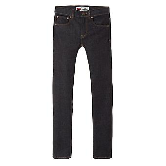 Levis Juniors 519 Extreme Skinny Jeans (Navy)