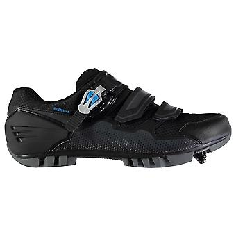 Muddyfox Mens MTB200 Cycling Shoes Touch and Close Mesh Padded Ankle Collar