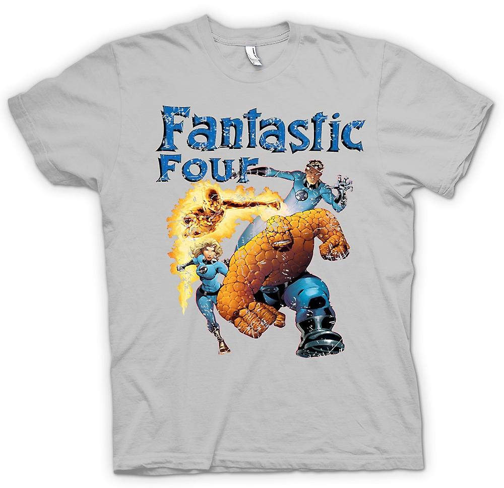 Mens t-shirt - Fantastic Four - comico Super eroe