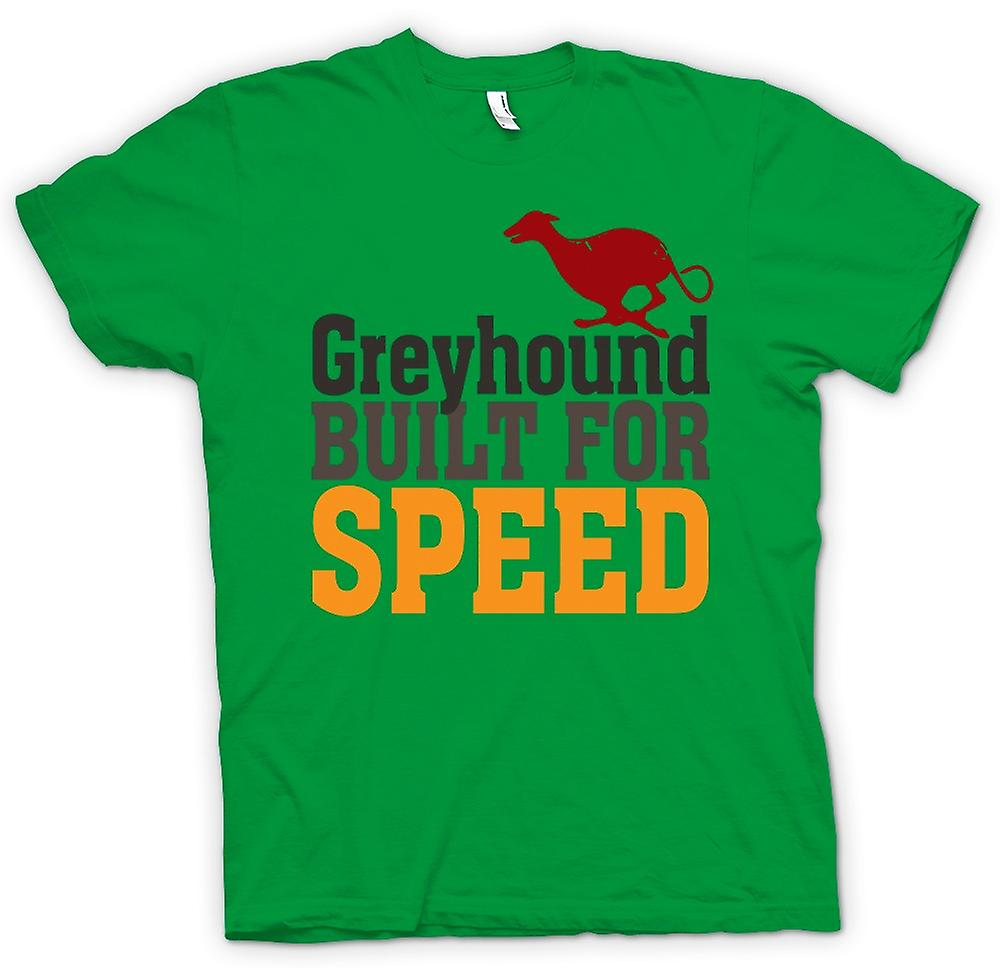 Mens T-shirt - Greyhound Built For Speed