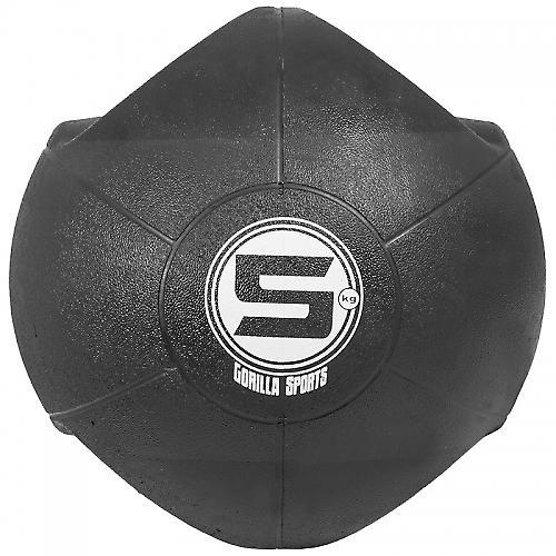 M�decine ball double poign�e de 5kg