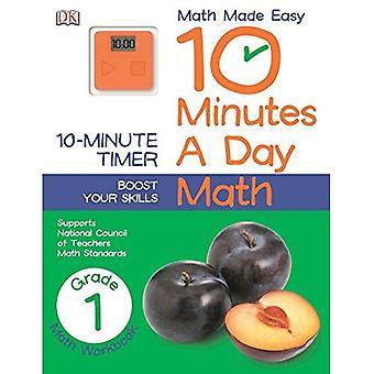 10 minutes par jour: Math, Grade 1