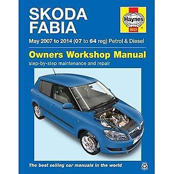 Skoda Fabia Petrol & Diesel Owners Workshop Manual