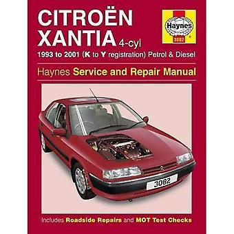 Citroen Xantia benzine en Diesel Service en reparatie handleiding: 1993-2001 (K naar Y Reg) (Haynes Service en reparatie handleidingen)